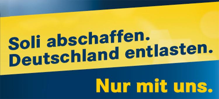 Supprimer la solidarité. Soulager l'Allemagne.